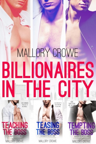 Billionaires in the City Box Set by Mallory Crowe