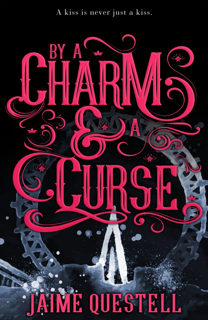 By a Curse and a Charm book cover design by Cover Couture