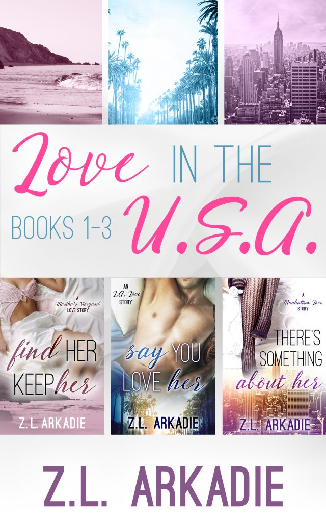 Love in the USA Box Set by ZL Arkadie